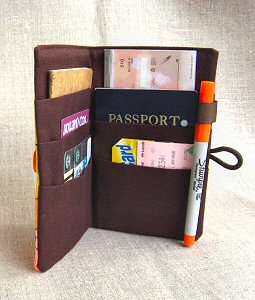 perfectly fits passports and checkbooks