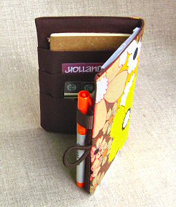 perfectly fits moleskines and ID cards