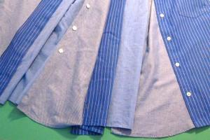skirt gores in a pleasing arrangement