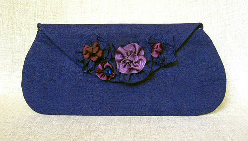 zaria envelope clutch from Holland Cox