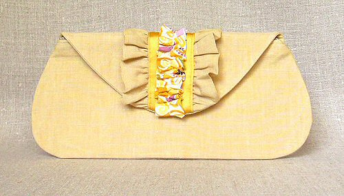 the morrigan envelope clutch from Holland Cox