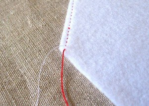 how to neatly finish a seam