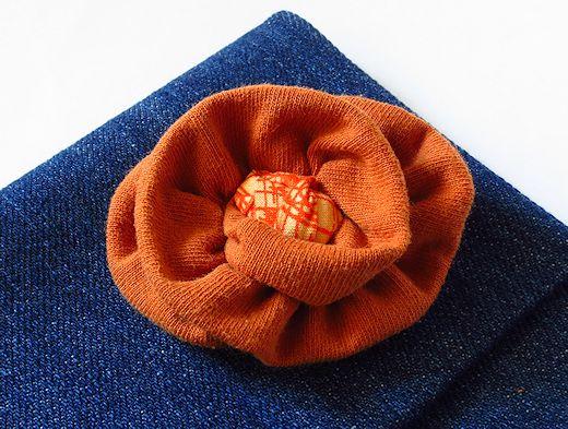 cotton jersey flower