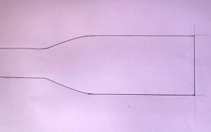 batwing bow tie pattern