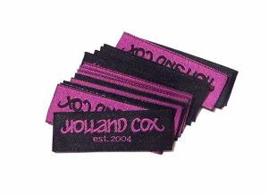 Holland Cox 10th anniversary labels