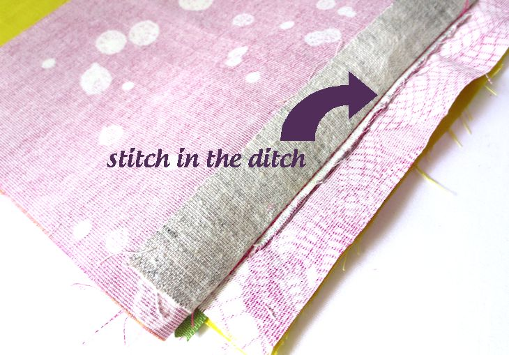 stitch in the ditch