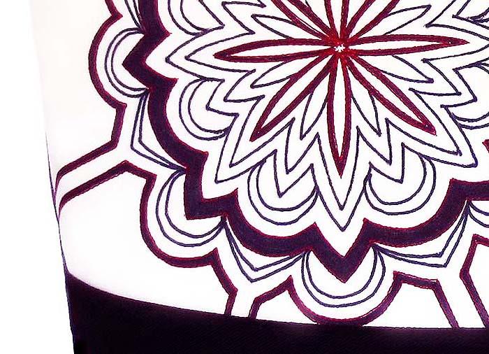 closeup of regina tote bag from Holland Cox