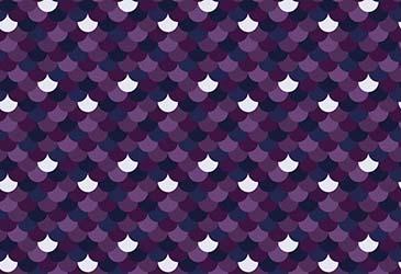 small purple scallops