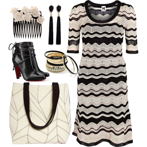 the cassandra tote from Holland Cox with a sweater dress