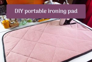 DIY portable ironing pad